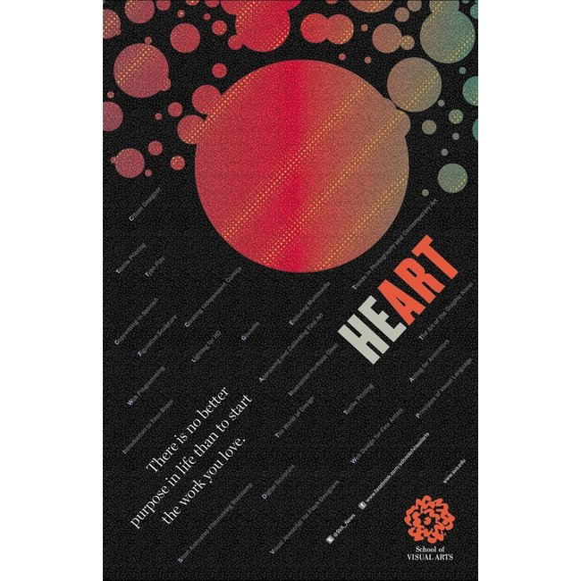 Milton Glaser - Heart (Small Poster)