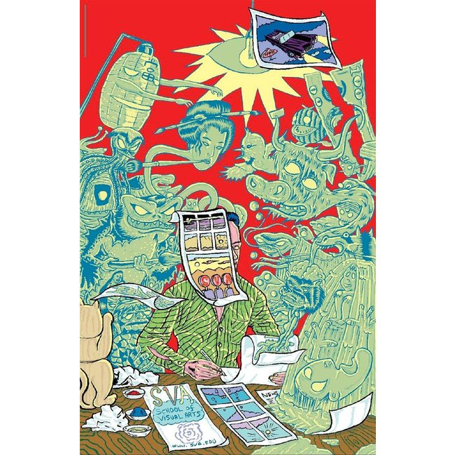 David Sandlin - Ghost Writer (Small Poster)