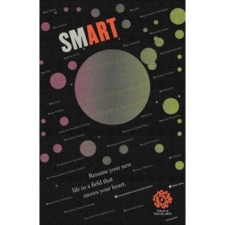 Milton Glaser - Smart (Small Poster)