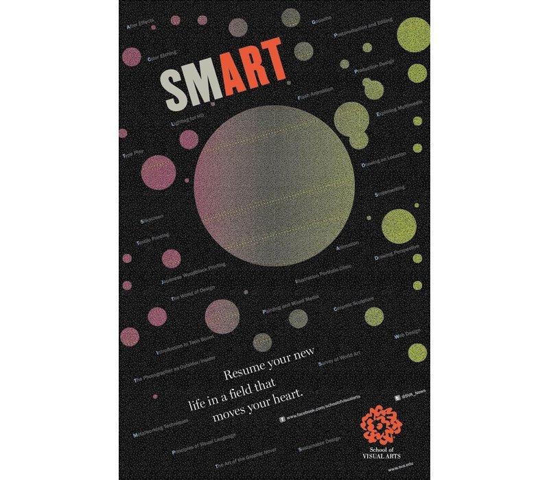 Milton Glaser - Smart (Small Poster)