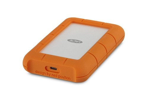 4TB - LaCie Rugged USB 3.1 External Hard Drive