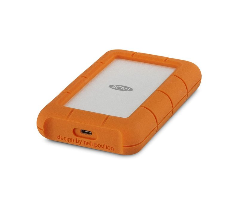 1TB - LaCie Rugged USB 3.1 External Hard Drive