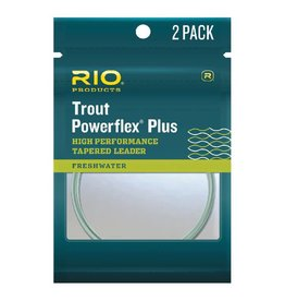 Rio Rio Trout Powerflex Plus Leaders 2 Pack