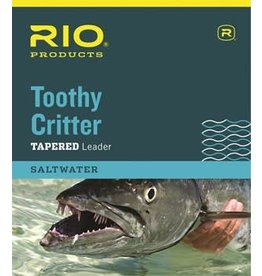 Rio TOOTHY CRITTER II 7.5'  STAINLESS WIRE WITH SNAP