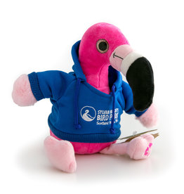 Flamingo Plush with Hooded Shirt