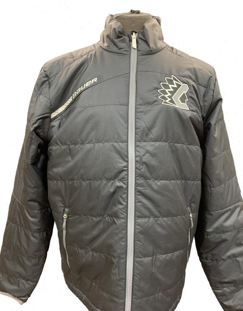 Black Bauer Bubble Jacket
