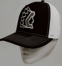 Richardson Black Trucker Hat