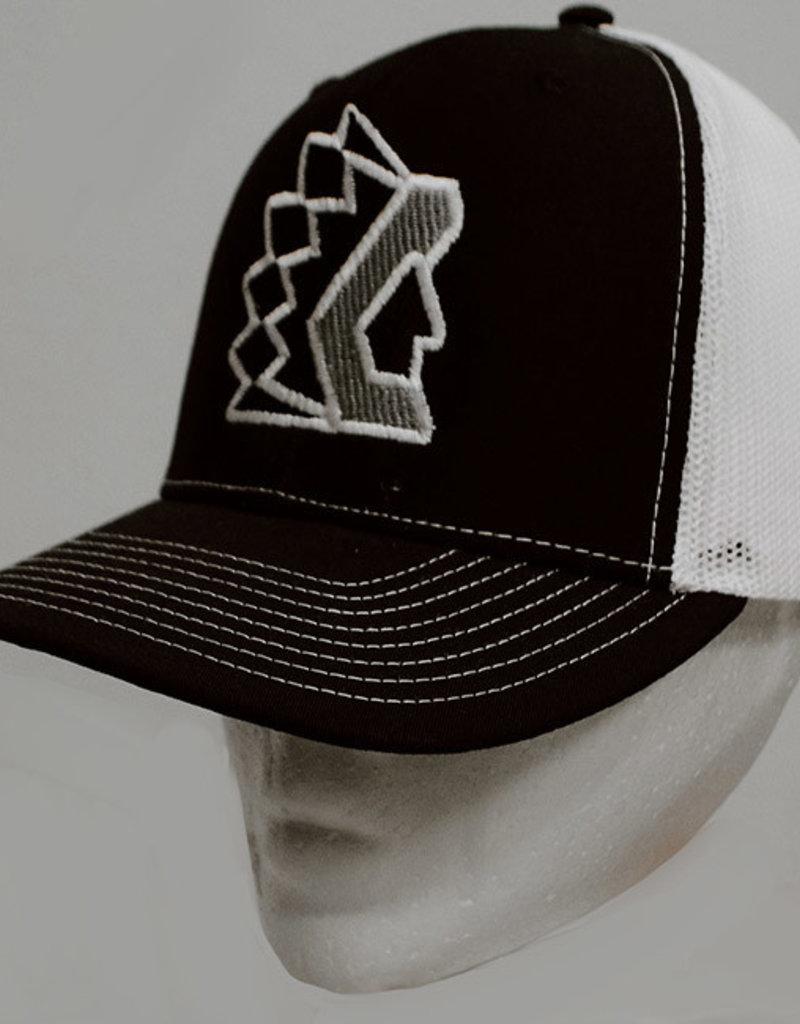 Richardson Black Trucker Hat