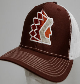 Richardson Maroon Trucker Hat