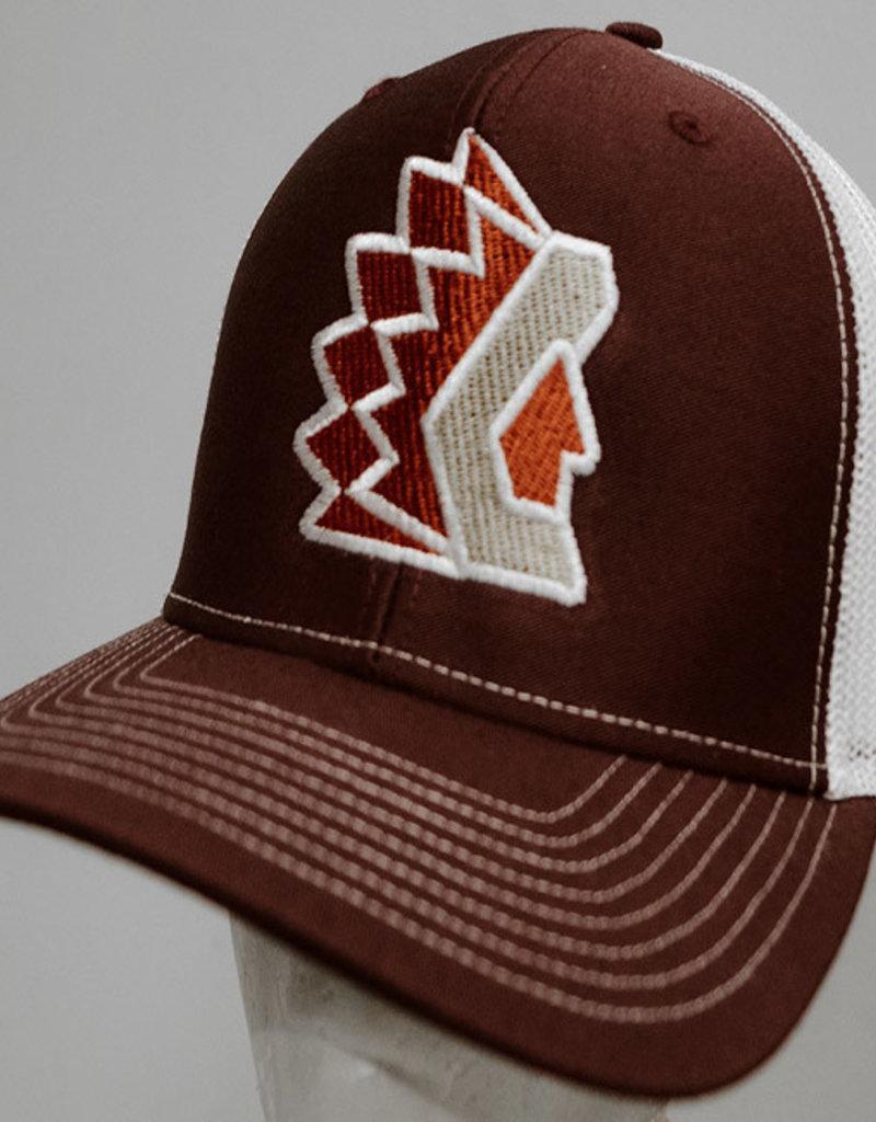 Richardson Maroon Trucker Hat