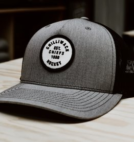 Richardson Grey Trucker Hat