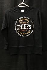Youth Black Championship Long Sleeve Shirt