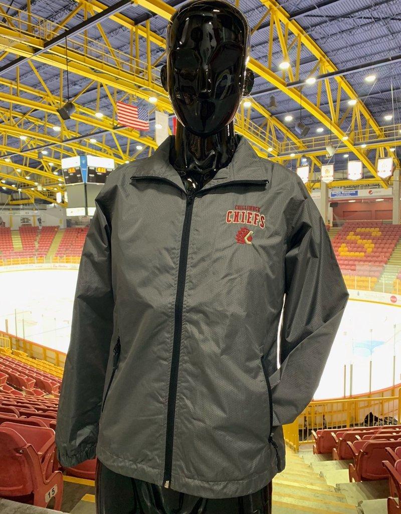 Women's Grey Jacket w/ Black Detailing
