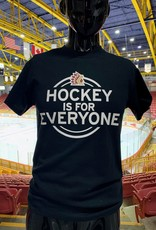 "Youth Black ""HOCKEY IS FOR EVERYONE"" T"