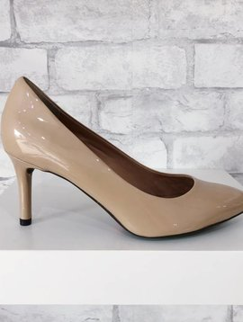 752f8fffd61 Rockport Total Motion Pointed Toe Pump Nude