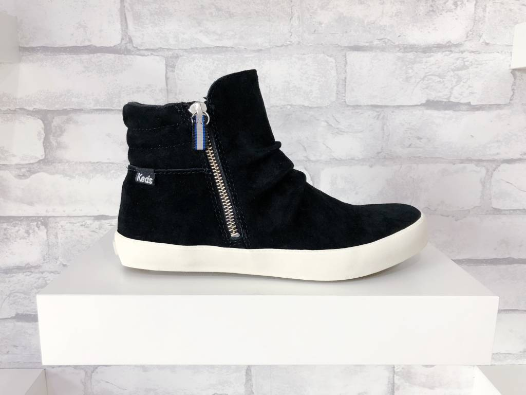 Keds Keds Midtown Zip Suede Black