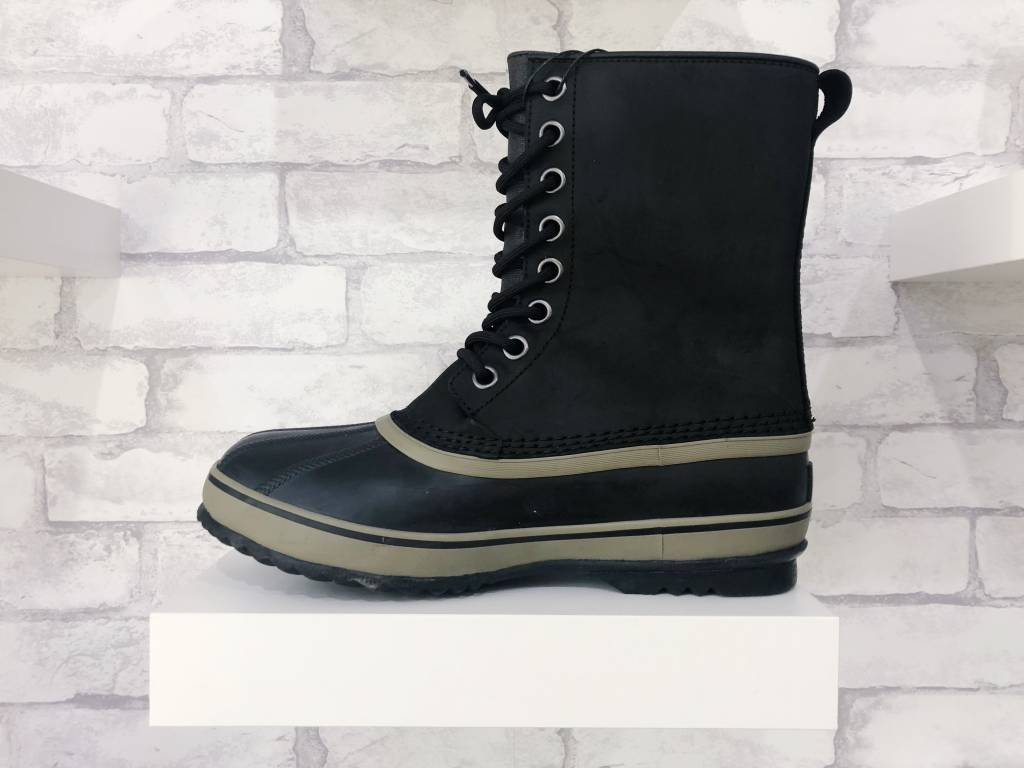 Sorel Footwear 1964 Premium T Leather Black