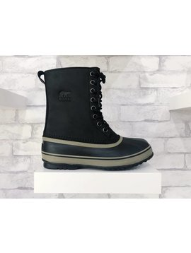 Sorel Footwear 1964 Premium T Leather Black