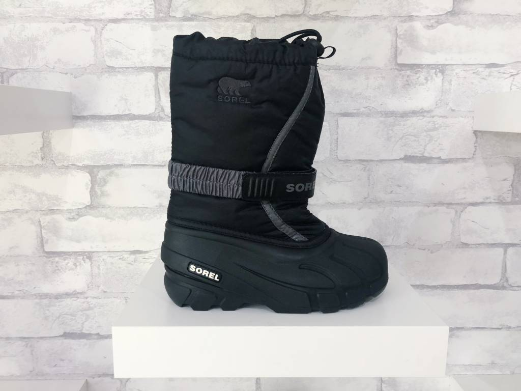 Sorel Footwear Youth Flurry Black