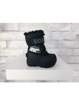 Sorel Footwear Toddler Snow Commander Black