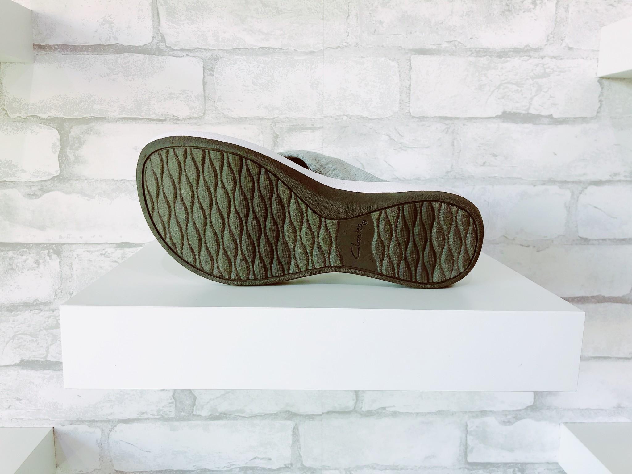 Clarks Arla Gilson Grey Sandal
