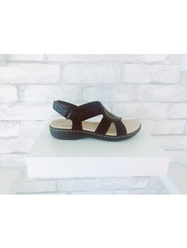 Clarks Leisa Joy Black Sandal