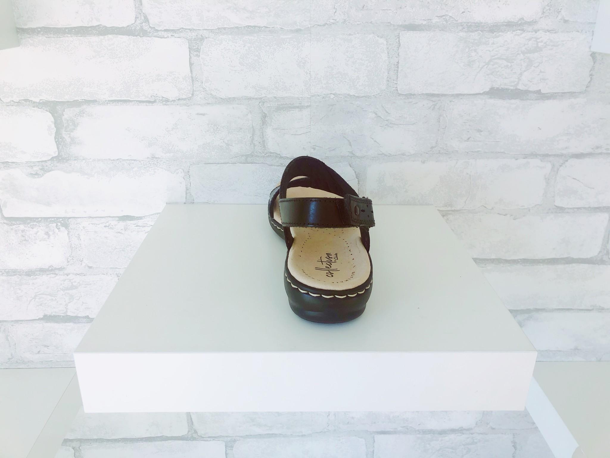 Clarks Leisa Joy Black Sandal