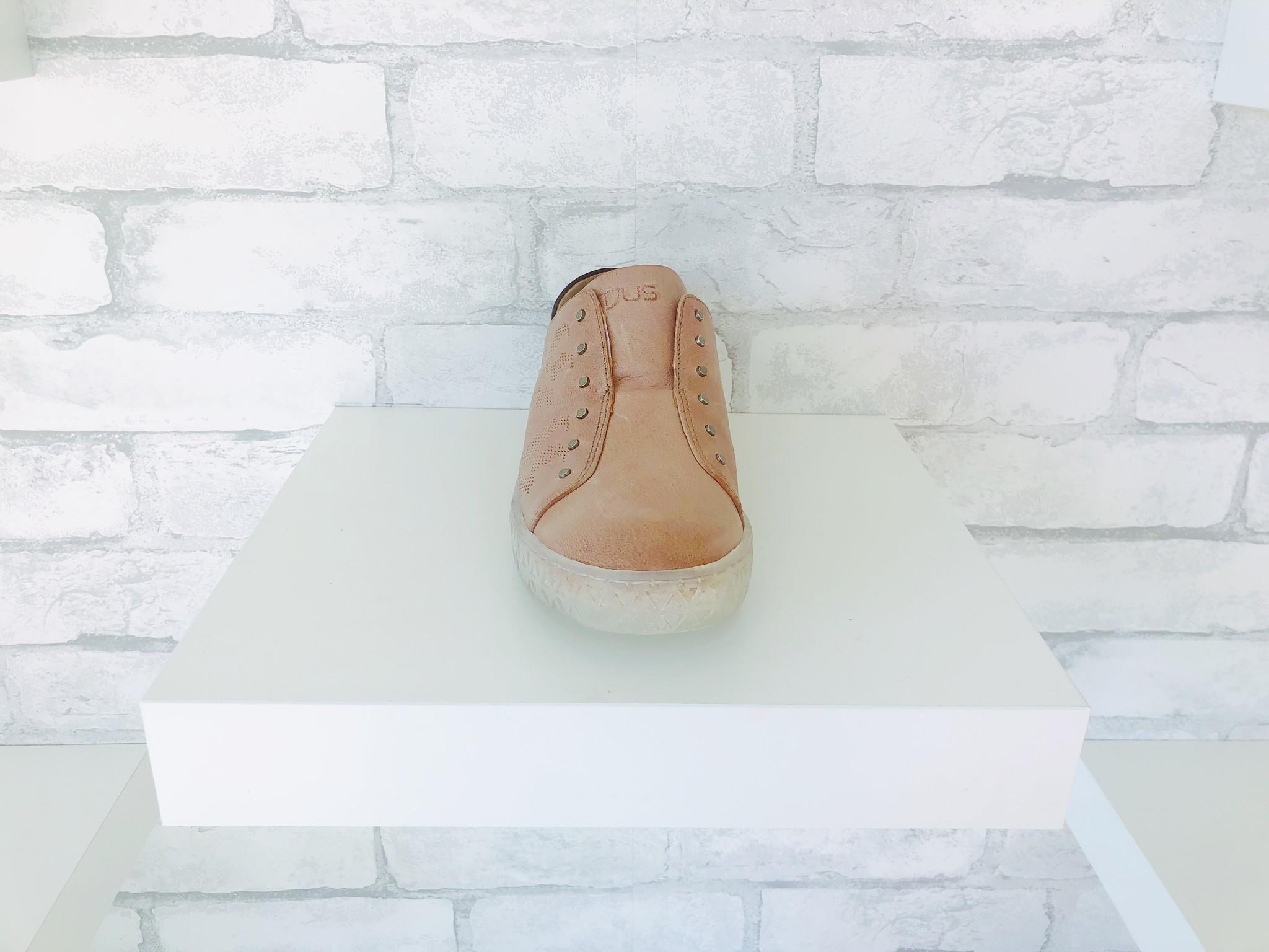 MJUS Seely 714116 Perla/Nero Leather Sneaker