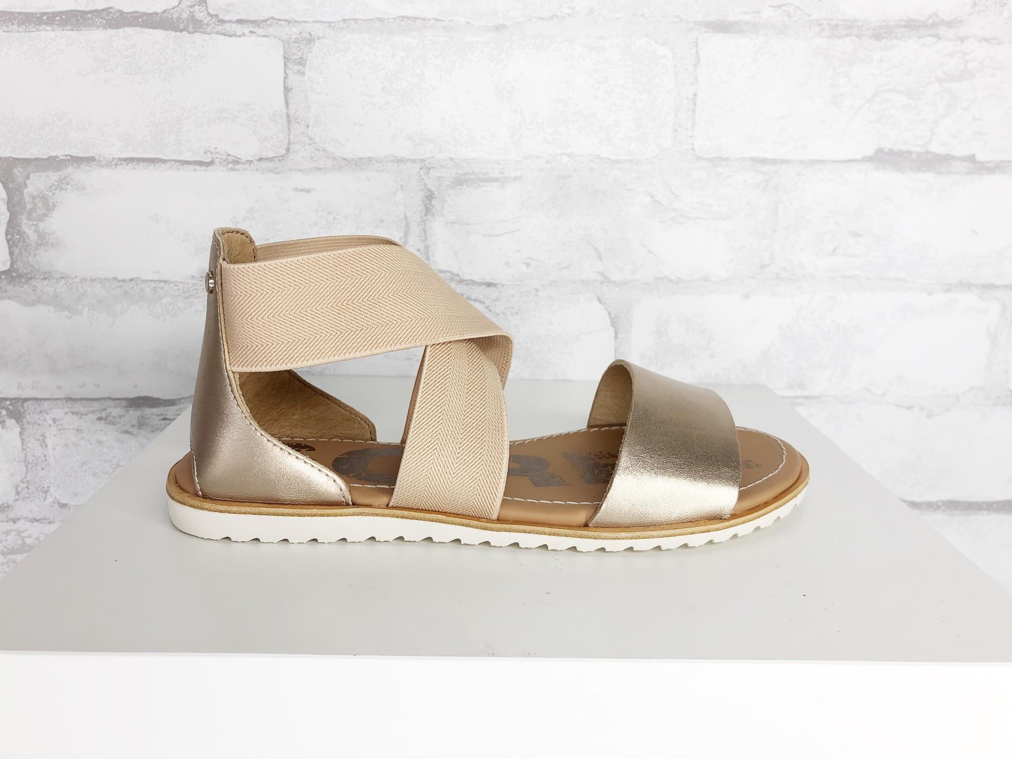 Sorel Footwear Ella Sandal Warm Gold