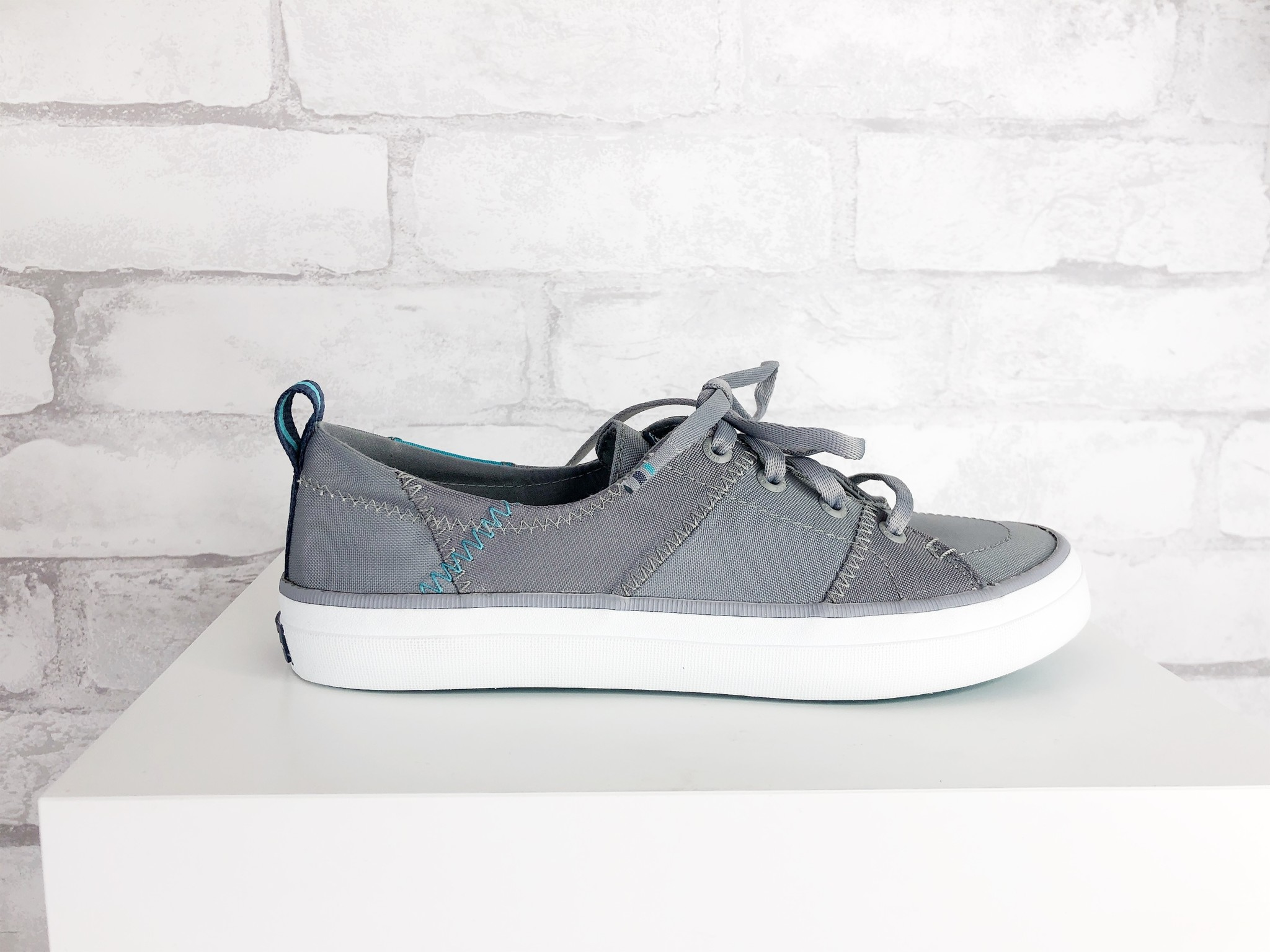 Sperry Crest Vibe Grey/Teal