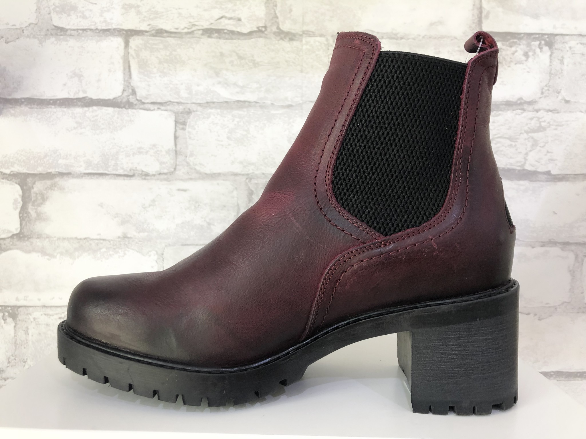 Bulle 18C168M Chelsea Boot Bordeaux