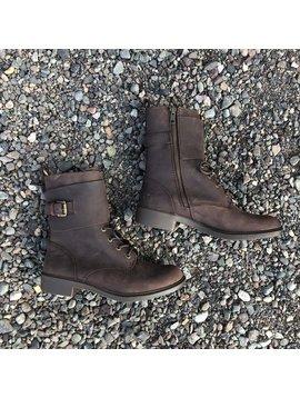 Kodiak Boots Callwood Waterproof Cuff Boot Cask Brown