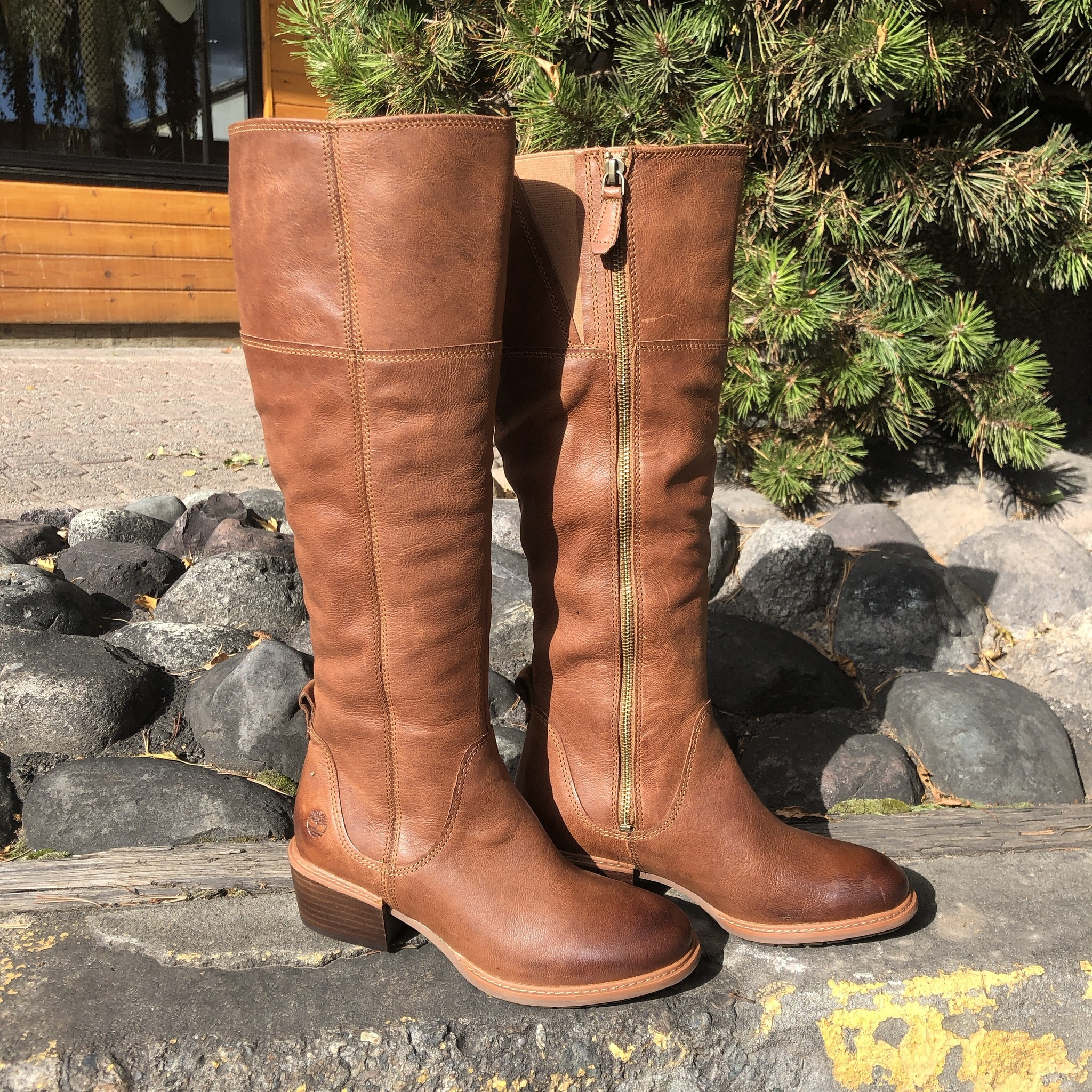 Timberland Sutherlin Bay Tall Slouch Boot Brown