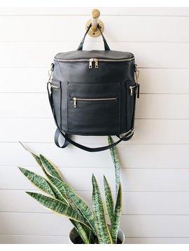De Luxe & Co. Diaper/Anytime Bag Black