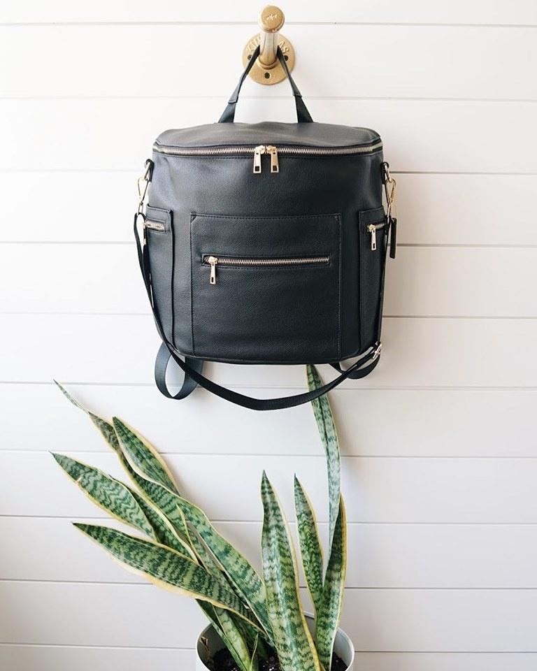 De Luxe & Co. Diaper/Anytime Bag Black