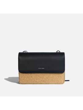 Jane 2 in 1 Wallet Purse Black Cork