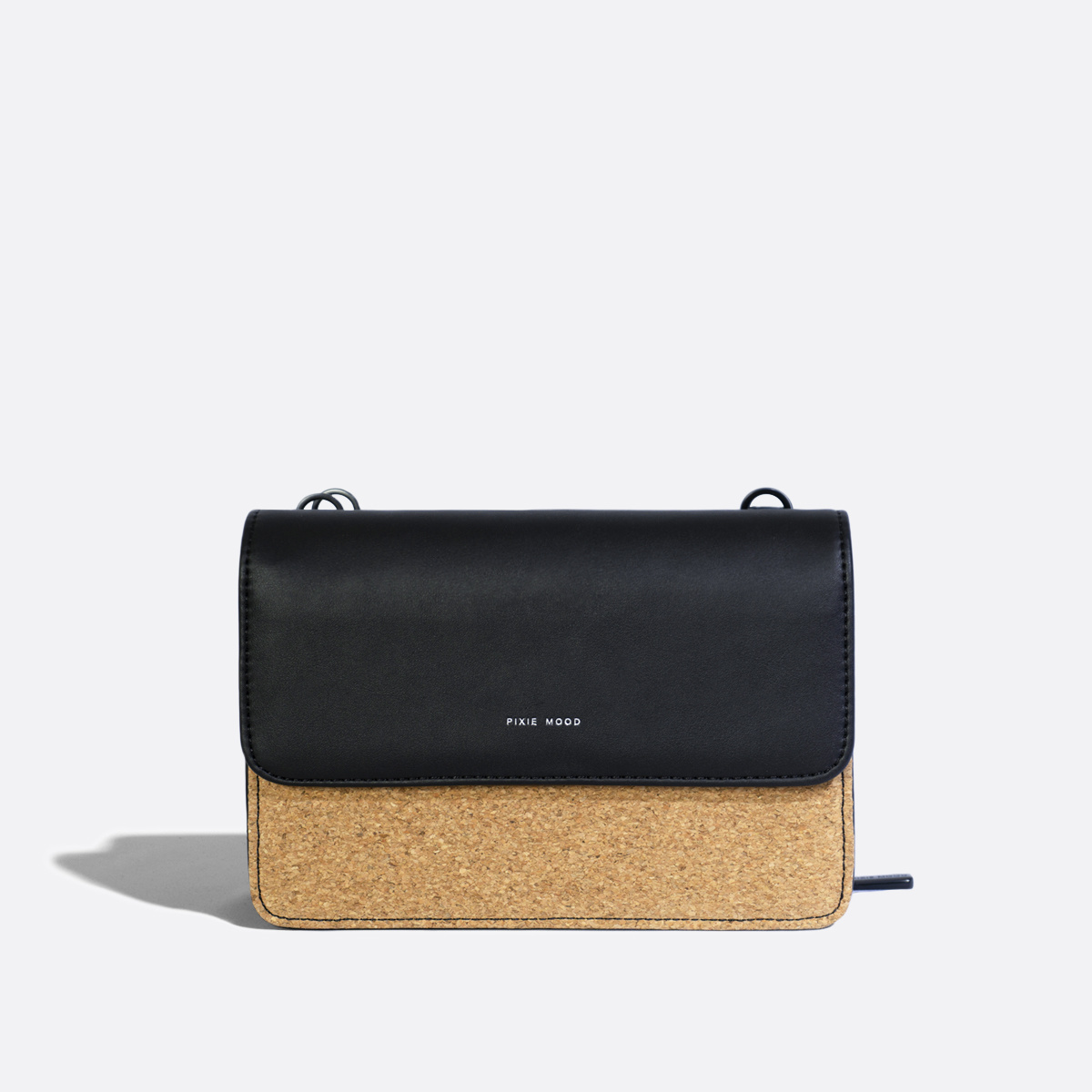 Jane 2 in 1 Wallet Purse Black Cork