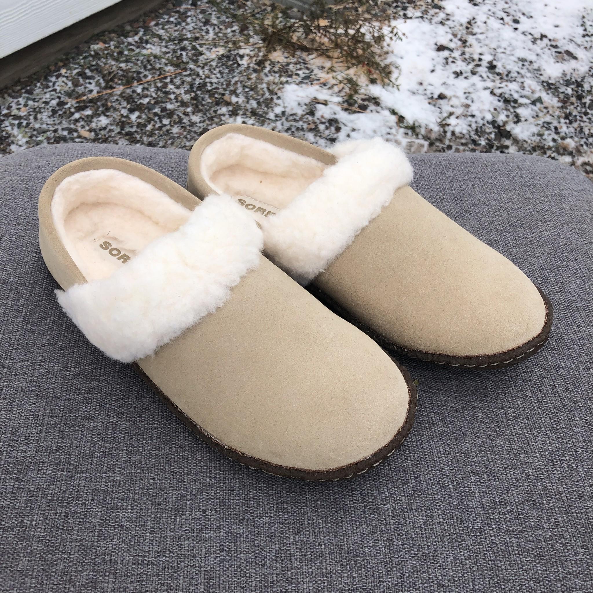 Sorel Footwear Nakiska Slipper II Tan