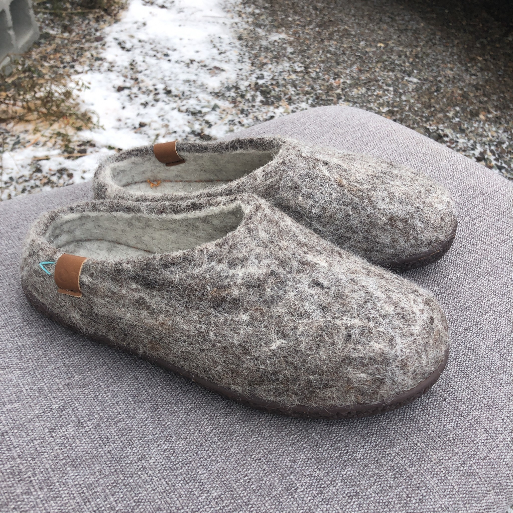 Tibet Slipper Grey