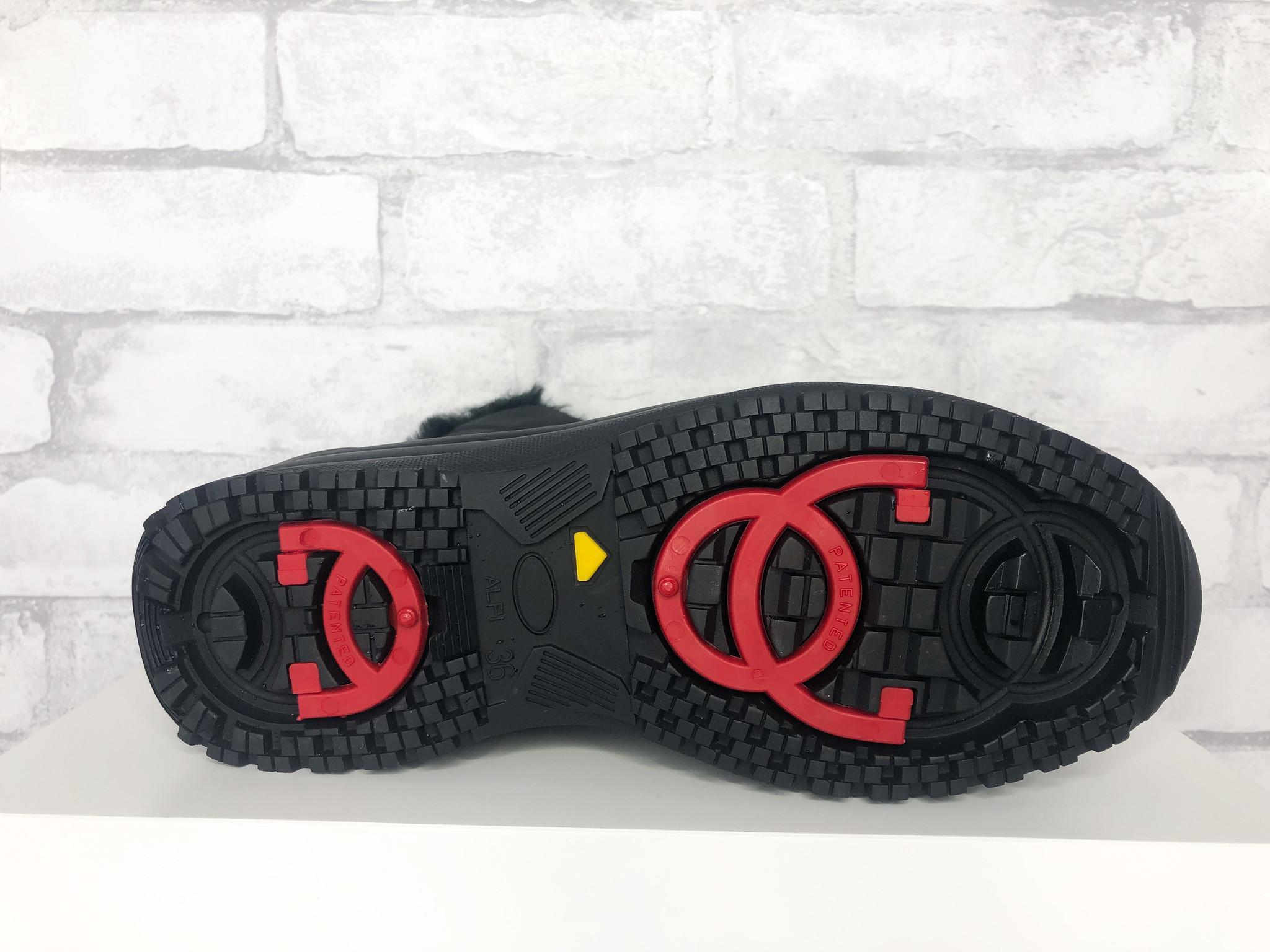 Attiba 799P/OC48 Black Winter Boot