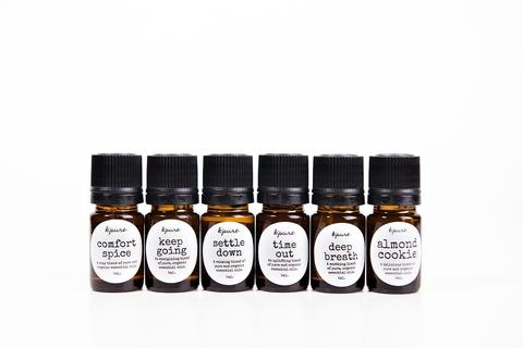 Essential Oil Blends  Deep Breath, Settle Down or Good Morning 5ml