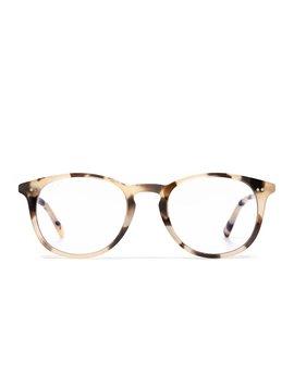 Blue Light Glasses Sawyer Cream Tortoise