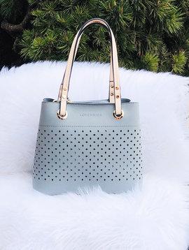 Paloma Handbag Dusty Blue