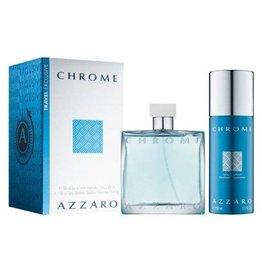 AZZARO AZZARO CHROME 2pcs Set (150ML DEO Spray)