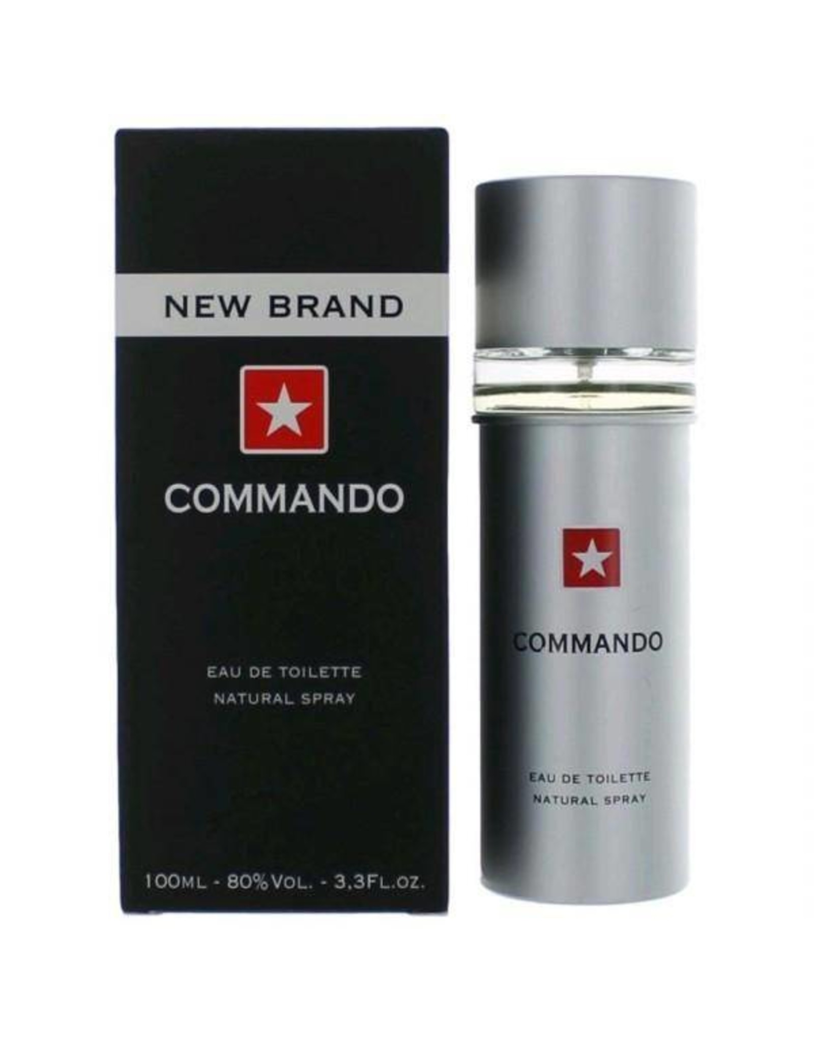 NEW BRAND PERFUMES COMMANDO