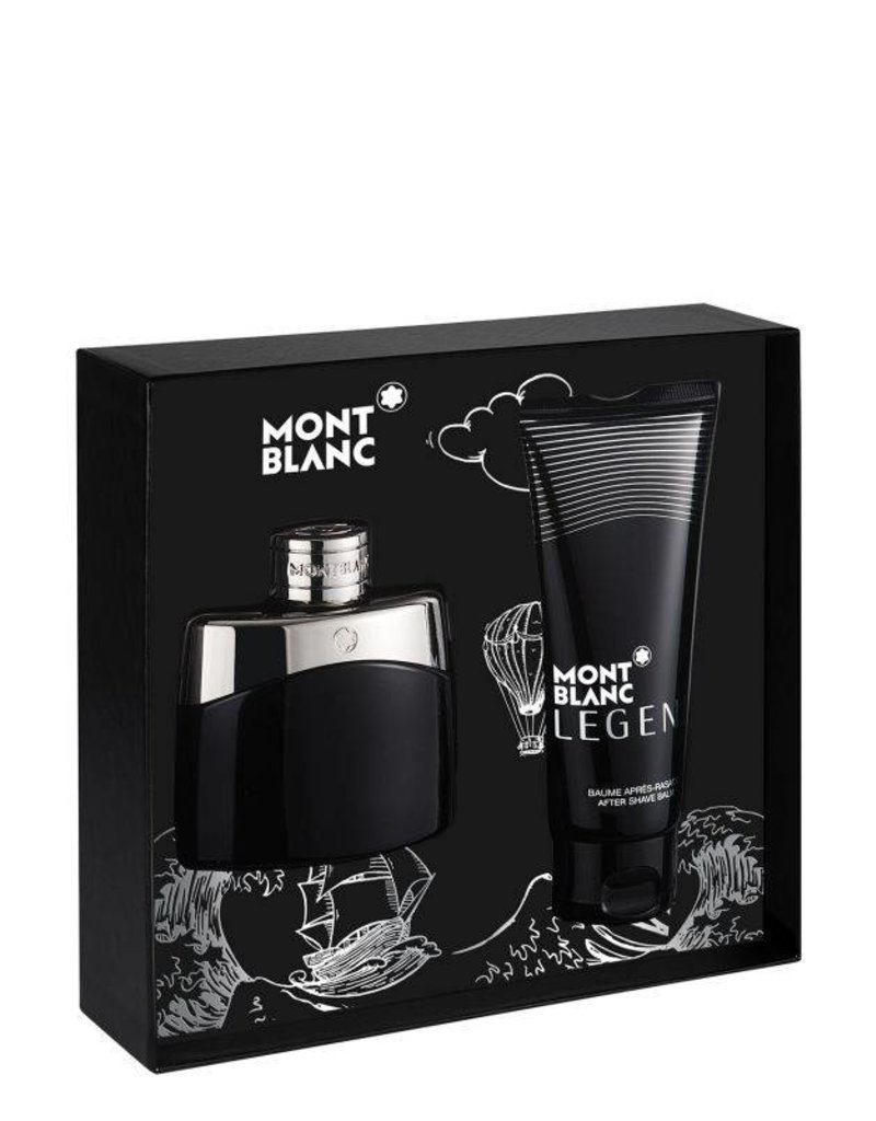MONT BLANC MONT BLANC LEGEND 2pc Set (After Shave)