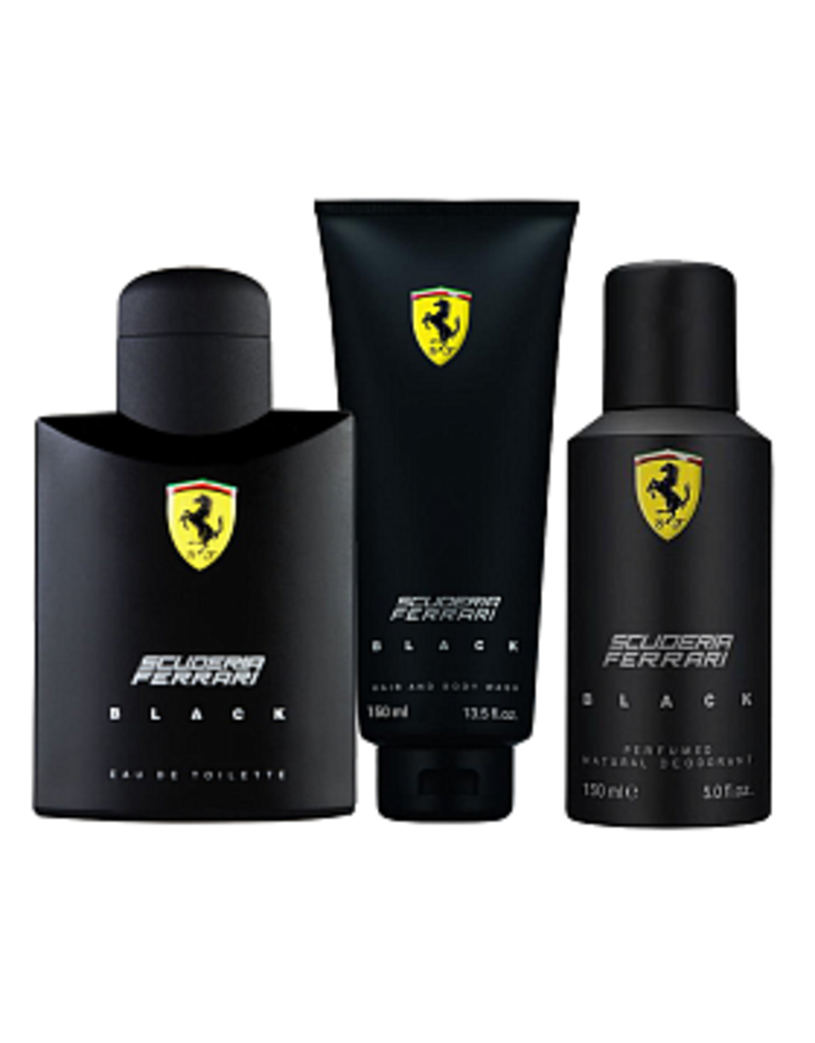 FERRARI FERRARI BLACK 3pcs Set