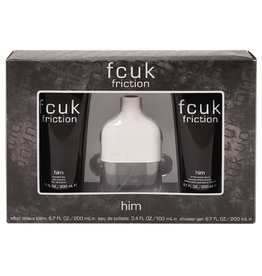 FRENCH CONNECTION FCUK FRICTION HIM 3pc Set