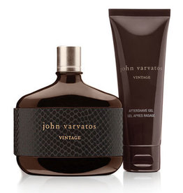 JOHN VARVATOS JOHN VARVATOS VINTAGE 2pcs Set 125ML EDT Spray + 100ML After Shave Gel (Unboxed)