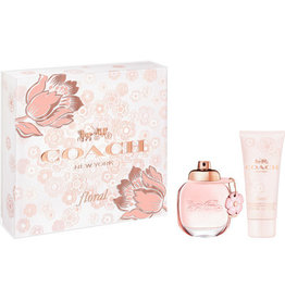 COACH COACH NEW YORK FLORAL 2pcs Set